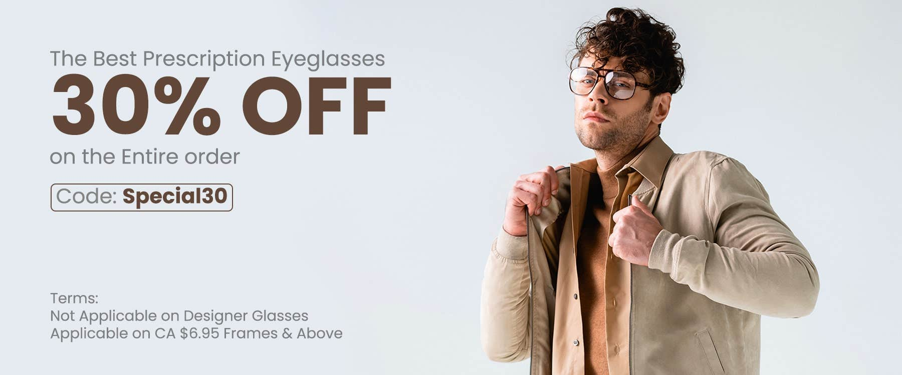 30% OFF On The Entire Order CODE: SPECIAL30