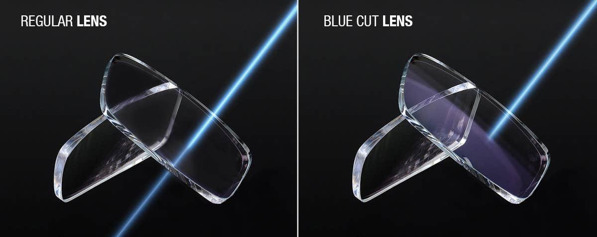 Regular vs Blue Cut Lenses